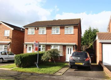 Thumbnail 2 bed semi-detached house for sale in Hillcrest, Leek, Staffordshire