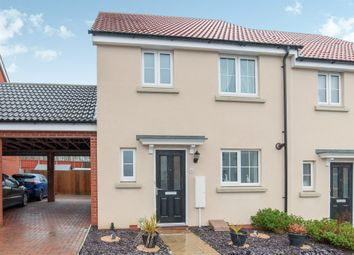 Thumbnail 3 bed terraced house for sale in Osprey Drive, Stowmarket