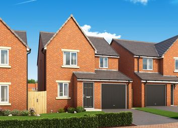"Thumbnail 3 bedroom detached house for sale in ""The Redwood"" at St. Marys Terrace, Coxhoe, Durham"