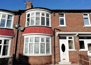 Thumbnail 4 bed terraced house for sale in Connaught Road, Middlesbrough