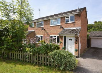 Thumbnail 3 bed semi-detached house for sale in Well Copse Close, Clanfield, Waterlooville