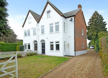 Thumbnail 4 bed semi-detached house to rent in Village Road, Coleshill, Amersham