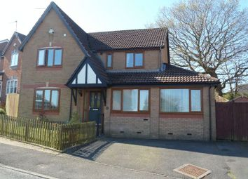 Thumbnail 4 bed detached house for sale in Coed-Y-Felin, Barry