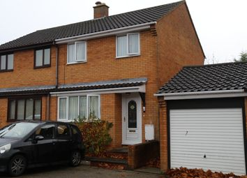 Thumbnail 3 bed end terrace house to rent in Dexter Avenue, Milton Keynes