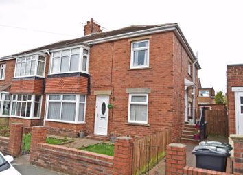 Thumbnail 2 bed flat for sale in Glanton Road, North Shields