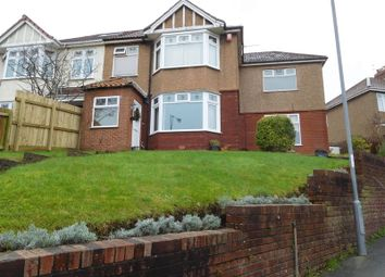 Thumbnail 4 bed semi-detached house for sale in Ravenhill Avenue, Knowle, Bristol