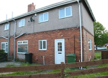 Thumbnail 3 bed semi-detached house to rent in Garden City Villas, Ashington