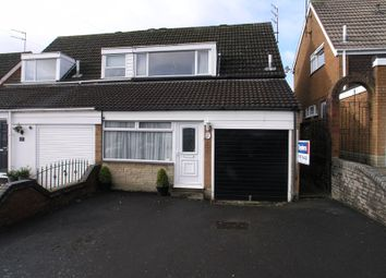 Thumbnail 3 bed semi-detached house for sale in Halesowen, Wythall Road, No Upward Chain