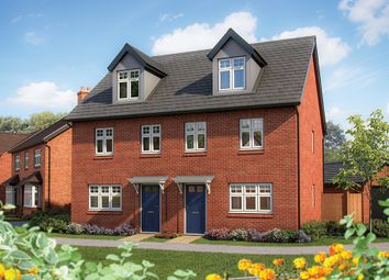 """Thumbnail 3 bed semi-detached house for sale in """"The Beech"""" at Warwick Road, Kenilworth"""