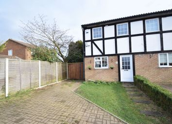 Thumbnail 2 bed semi-detached house for sale in Beanley Close, Luton