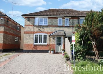 Thumbnail 3 bed semi-detached house for sale in Stock Lane, Ingatestone, Essex