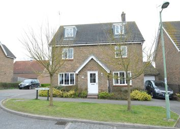 Thumbnail 5 bed detached house for sale in Sperling Drive, Haverhill