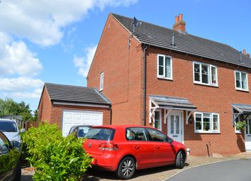 Thumbnail 3 bed semi-detached house to rent in Oaktree Close, Market Drayton
