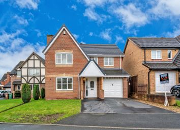 Thumbnail 4 bed detached house for sale in Langdale Close, Clayhanger, Walsall