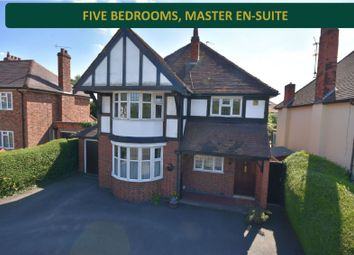 Thumbnail 5 bed detached house for sale in Leicester Road, Oadby, Leicester