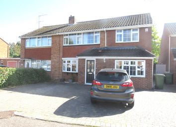 Thumbnail 4 bed semi-detached house for sale in High Wood Road, Hoddesdon