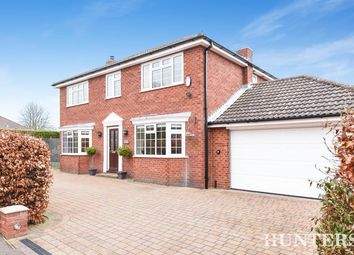 Thumbnail 4 bed detached house for sale in Ludborough Park, Ludborough, Grimsby