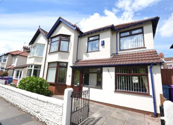 Thumbnail 4 bed semi-detached house for sale in Queens Drive, Mossley Hill, Liverpool