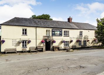 Thumbnail 9 bed detached house for sale in The Devil's Stone Inn, Shebbear, Beaworthy