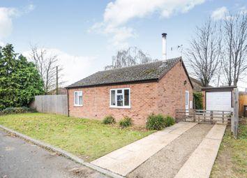 Thumbnail 2 bed detached bungalow for sale in Laburnum Close, Red Lodge, Bury St. Edmunds