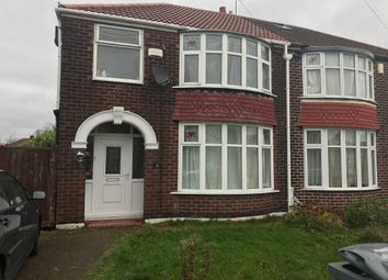 Thumbnail 3 bed semi-detached house to rent in Brantingham Road, Chorlton Cum Hardy, Manchester