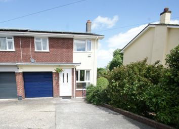 Thumbnail 3 bed semi-detached house for sale in Duchy Drive, Preston, Paignton