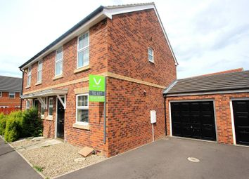 Thumbnail 2 bed semi-detached house for sale in Moorfield Close, Darlington