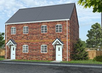 Thumbnail 3 bed semi-detached house for sale in Kiln Court, Kirk Sandall, Doncaster