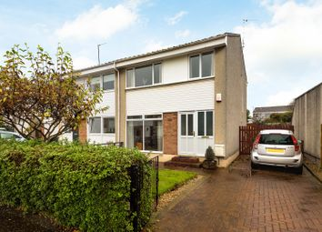 Thumbnail 3 bedroom semi-detached house for sale in Mountcastle Crescent, Edinburgh