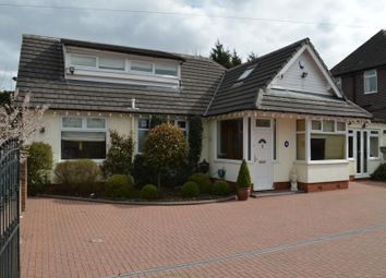 Thumbnail 4 bed bungalow for sale in Chester Road, Woodford, Stockport