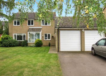 Thumbnail 4 bed detached house for sale in Manor Way, Hail Weston, St. Neots