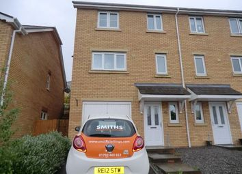 Thumbnail 3 bed semi-detached house to rent in Gelli Deg, Fforestfach, Swansea