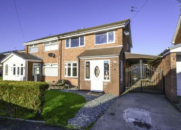Thumbnail 3 bed semi-detached house for sale in Belmont Close, Burscough, Ormskirk