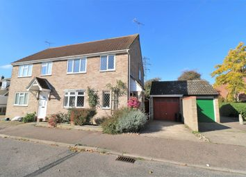Thumbnail 3 bed semi-detached house for sale in Mede Way, Wivenhoe, Colchester
