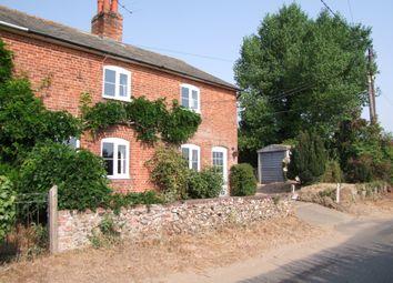 Thumbnail 4 bed semi-detached house for sale in Farnham Road, Blaxhall, Woodbridge, Suffolk