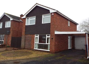 Thumbnail 3 bed link-detached house to rent in St Marys Road, Lichfield