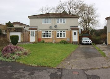 Thumbnail 3 bedroom semi-detached house for sale in Easterly Close, Brackla, Bridgend County.