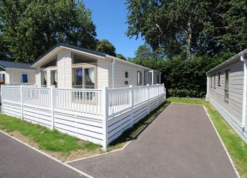 Thumbnail 2 bed mobile/park home for sale in Warren Road, Dawlish Warren, Dawlish