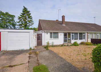Thumbnail 3 bed semi-detached bungalow for sale in Moulton Avenue, Kentford, Newmarket