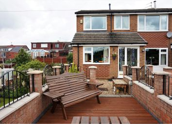 Thumbnail 4 bed semi-detached house for sale in Barnfield Road, Hyde