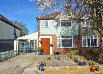 Thumbnail 4 bed semi-detached house for sale in Hart Close, Hillmorton, Rugby