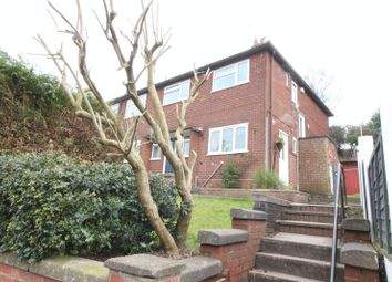 Thumbnail 2 bed flat for sale in Westwood Heath Road, Leek, Staffordshire