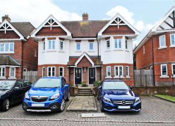 Thumbnail 4 bedroom semi-detached house for sale in Knights Mead, Chertsey, Surrey