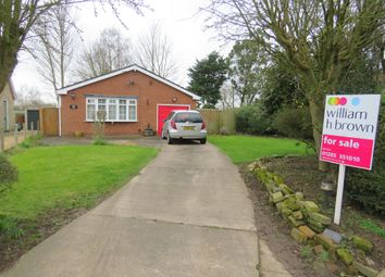 Thumbnail 3 bed detached bungalow for sale in Willington Road, Kirton End, Boston