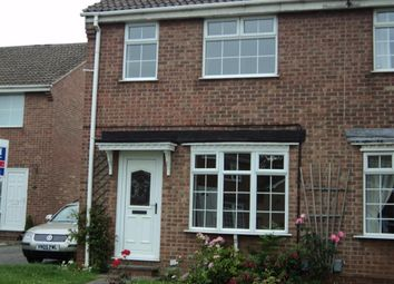 Thumbnail 3 bed semi-detached house to rent in Burdock Close, Oakwood, Derby
