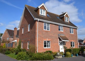 Thumbnail 5 bed detached house for sale in Ravelin Close, Fleet