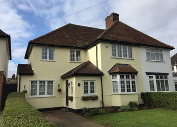 Thumbnail 3 bed semi-detached house for sale in Whitehurst Avenue, Hitchin