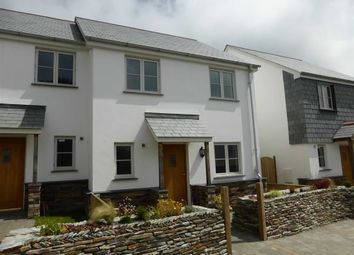 Thumbnail 3 bed semi-detached house to rent in Well Lane, Hartland, Bideford, Devon