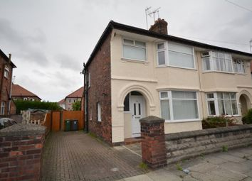 Thumbnail 3 bedroom semi-detached house to rent in Southcroft Road, Wallasey, Wirral