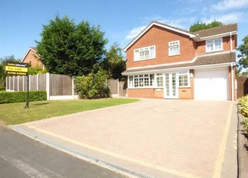 Thumbnail 4 bed detached house for sale in Montville Drive, Stafford